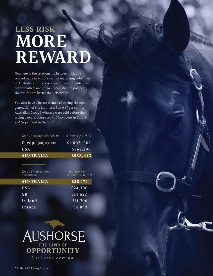 aushorse ad using my numbers