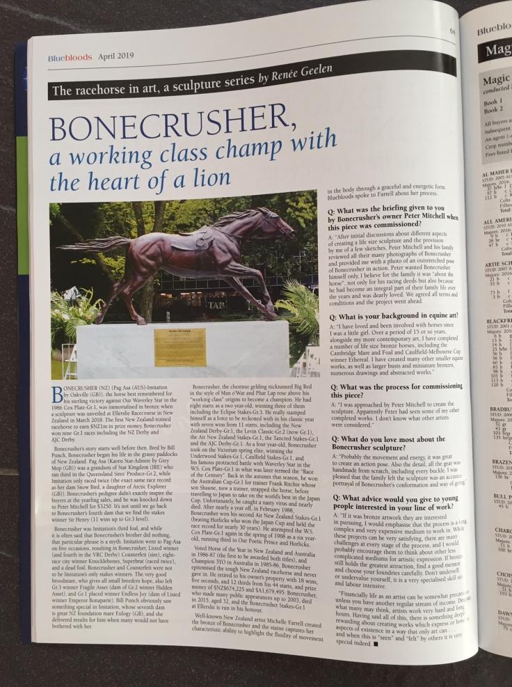bonecrusher statue